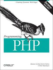Cover of: Programming PHP | Rasmus Lerdorf