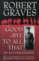 Cover of: Good-Bye to All That | Robert Graves