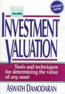 Cover of: Investment Valuation by Aswath Damodaran