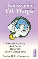 Cover of: Ambassadors of hope by Sandra Hefter Herrmann