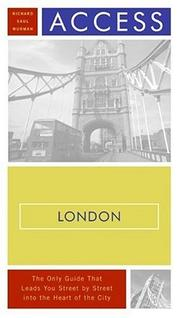Cover of: Access London 10e (Access Guides) by Richard Saul Wurman