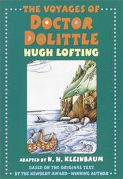 Cover of: Voyages of Doctor Dolittle | N. H. Kleinbaum
