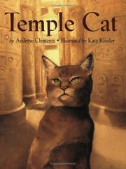Cover of: Temple Cat | Andrew Clements