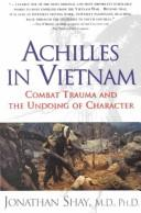 Cover of: Achilles in Vietnam by Jonathan Shay