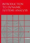 Cover of: Introduction to dynamic systems analysis | T. D. Burton