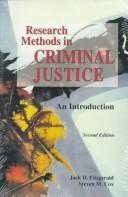 Cover of: Research methods in criminal justice | Jack D. Fitzgerald