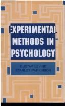 Cover of: Experimental methods in psychology | Gustav Levine