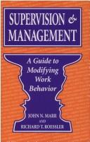 Cover of: Supervision & management | John N. Marr