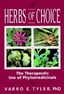 Cover of: Herbs of choice by Varro E. Tyler