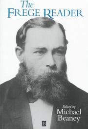 Cover of: The Frege reader | Gottlob Frege