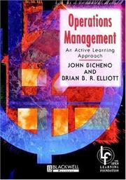 Cover of: Operations management | John Bicheno