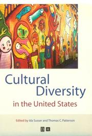 Cover of: Cultural Diversity in the United States | Thomas C. Patterson