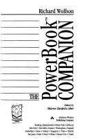 Cover of: The PowerBook companion by Richard Wolfson