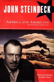Cover of: America and Americans, and selected nonfiction | John Steinbeck