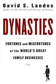 Cover of: Dynasties | David Landes
