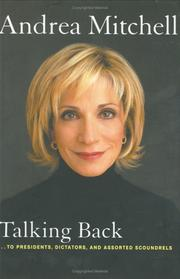 Cover of: Talking Back | Andrea Mitchell
