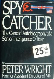 Cover of: Spycatcher | Peter Wright