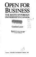 Cover of: Open for business by Gordon Laxer