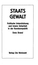 Cover of: Staatsgewalt by Enno Brand
