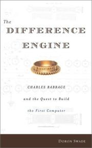 Cover of: The Difference Engine | Doron Swade