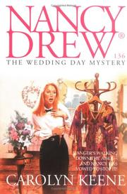 Cover of: The WEDDING DAY MYSTERY | Carolyn Keene