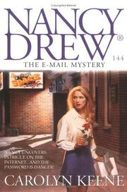 Cover of: The E-Mail Mystery by Carolyn Keene