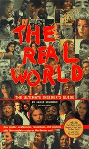 Cover of: The Real world | James Solomon