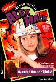 Cover of: HAUNTED HOUSE HIJINKS! THE SECRET WORLD OF ALEX MACK #32 (Secret World of Alex Mack) | Esther M. Friesner
