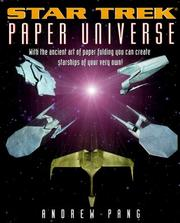 Cover of: Star Trek paper universe | Andrew Pang