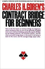 Cover of: Contract Bridge for Beginners by Charles Goren, Charles Henry Goren