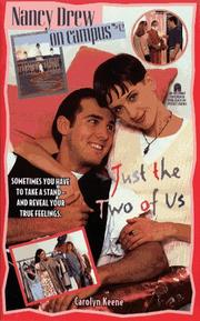 Cover of: Just the Two of Us | Carolyn Keene