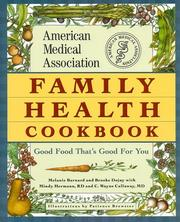 Cover of: American Medical Association family health cookbook | Melanie Barnard