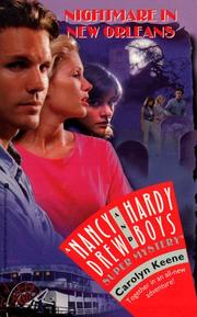 Cover of: NIGHTMARE IN NEW ORLEANS NANCY DREW AND HARDY BOYS SUPERMYSTERY | Carolyn Keene