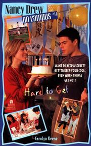 Cover of: Hard to Get | Carolyn Keene