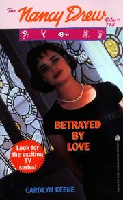 Cover of: BETRAYED BY LOVE | Carolyn Keene
