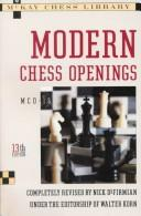 Cover of: Modern chess openings by Walter Korn