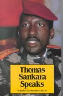 Cover of: Thomas Sankara speaks by Thomas Sankara