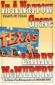 Cover of: In a narrow grave by Larry McMurtry