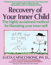 Cover of: Recovery of your inner child | Lucia Capacchione