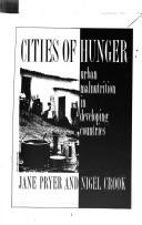 Cover of: Cities of hunger | Jane Pryer