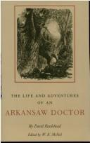 Cover of: The life and adventures of an Arkansaw doctor | David Rattlehead