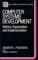 Cover of: Computer systems development by Andrew L. Friedman