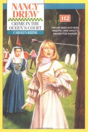 Cover of: Crime In The Queen's Court | Carolyn Keene