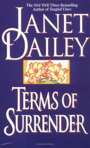 Cover of: Terms of Surrender | Janet Dailey