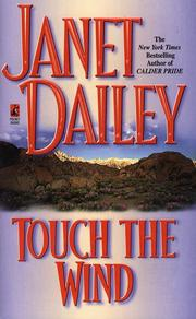 Cover of: Touch the Wind by Janet Dailey