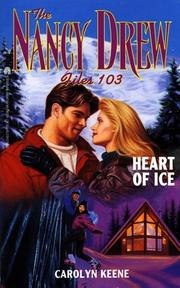 Cover of: Heart of Ice | Carolyn Keene
