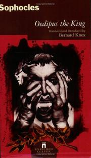 Cover of: Oedipus The King (Enriched Classics) | Bernard Knox