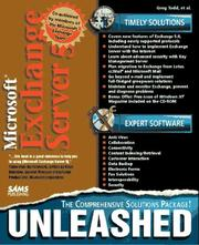 Cover of: Microsoft Exchange Server 5 unleashed | Greg Todd