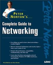 Cover of: Complete Guide to Networking by Peter Norton