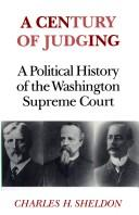 Cover of: A century of judging | Charles H. Sheldon